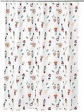 IKEA 603.247.99 Rosenfibbla Shower Curtain, White,