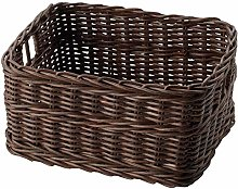 IKEA ASIA GABBIG Basket dark brown
