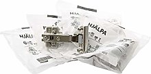 Ikea HJALPA Soft Closing Hinges, 903.828.82, (Fits
