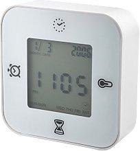 Ikea KLOCKIS - Clock/thermometer/alarm/timer, white
