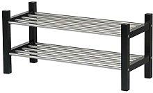 Ikea Tjusig Home Decor Shoe Rack, Black