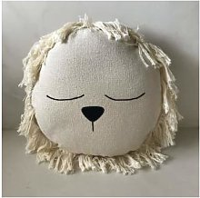 ILA Y ELA - Crochet Lion Cushion