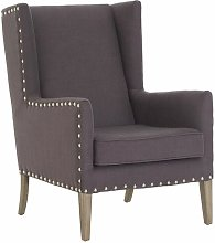 Ilkley Wingback Chair Rosalind Wheeler Upholstery:
