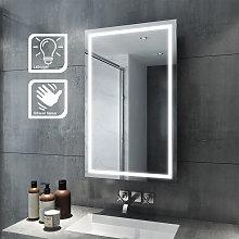 Illuminated LED Bathroom 430 x 690mm Sliding