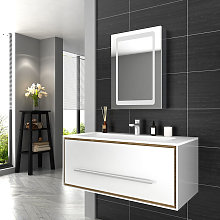 Illuminated LED Bathroom Mirror Cabinet with