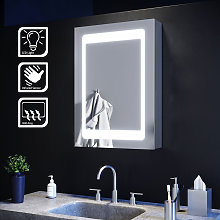 Illuminated LED Mirror Cabinet with Lights with