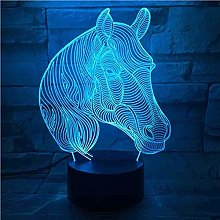 Illusion Led Night Light7 Color Change Table Lamps