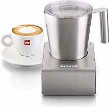 illycaffe 20709 Milk Frother, Stainless Steel -