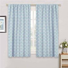 ILMF Blackout Curtain Set With Eyelet, Simple