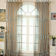 ILMF Curtain Sheer, Voile Window Super Soft with