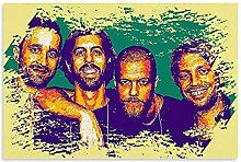 Imagine Dragons Artwork Canvas Art Poster and Wall