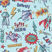 Imagine Fun Wallpaper Superhero Blue 696200 Full