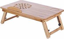 IMBM Bed Lap Desk,Portable Folding Bamboo Bed