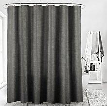 Imitation curtain linen shower curtain separation
