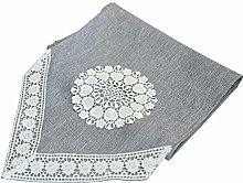 Imitation Linen Lace Water Soluble Flower Table