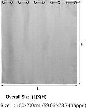Imitation Linen Outdoor Curtain Waterproof Garden