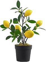 Imitation Plants Artificial Flowerpot Lemon Bonsai