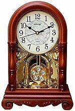 Imitation wooden pendulum mantle mantel quartz