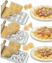 Imperia Ravioli Maker Set of 3 Italian Made Molds-