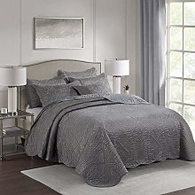 Imperial Rooms 3 piece Embroidered Quilted
