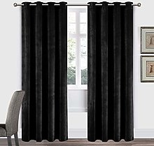 Imperial Rooms Crushed Velvet Blackout Curtains