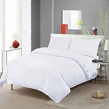 Imperial Rooms Duvet Cover Set White Hotel Quality
