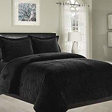 Imperial Rooms® Duvet Cover Sets Crushed Velvet