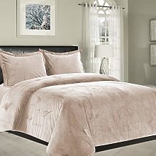 Imperial Rooms Single Bedding Set Crushed velvet