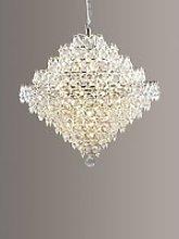 Impex Diamond Lead Chandelier Ceiling Light,