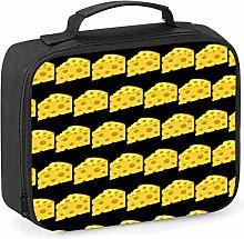 Imprintable Cheese Wedge Emoji Pattern Lunch