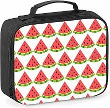 Imprintable Watermelon Emoji Pattern Lunch Cooler