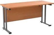 Impulse Narrow Rectangular Desk, 140wx60dx73h