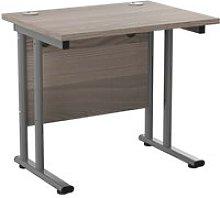 Impulse Narrow Rectangular Desk, 80wx60dx73h (cm),