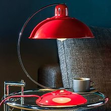 In fresh red - table lamp Franklin