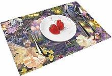 In My Fairy Garden Table mat 4 piece kitchen