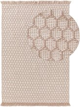 In- & Outdoor Rug Mimpi Taupe 160x230 cm - Modern