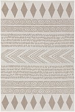 In- & Outdoor Rug Nillo Grey/Taupe 120x170 cm -