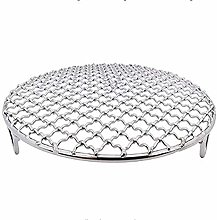 InBlossoms Round Barbecue Rack Carbon Baking Net