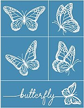 Incdnn Butterfly Self-Adhesive Silk Screen