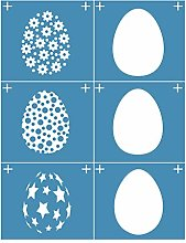 Incdnn Eggs Self-Adhesive Silk Screen Printing