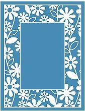 Incdnn Flower Self-Adhesive Silk Screen Printing
