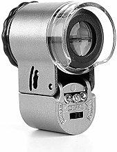 incense burner 50-fold magnifying glass HD mini,