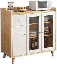 InChengGouFouX Furniture Sideboard Kitchen Buffet