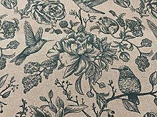 Inchyra Birds Toile 140cm Curtain Fabric Designer