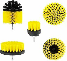 INCREWAY Drill Brush Attachment Kit, 5PCS Various