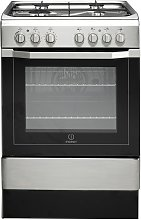 Indesit I6G52X 60cm Dual Fuel Cooker - Stainless