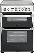 Indesit ID60C2 60cm Double Oven Electric Cooker -
