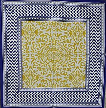 India Arts French Country Geometric Print