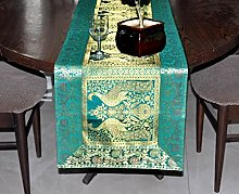 Indian Centerpiece Kitchen Table Runner Cloth