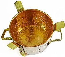 Indian Sigdi Royal Traditional Copper Brass Food